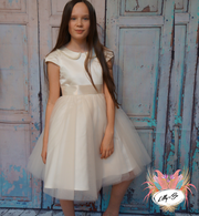 Raven ~ Flower Girl Dress