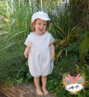 Sailor ~ Boys Baptism | Christening Suit with Cap