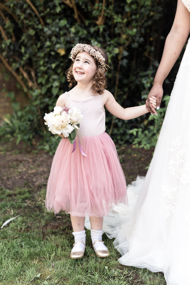Beatrice Tulle Dress ~ Party or Flower Girl Dress