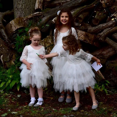 Sage ~ Party or Flower Girl Dress