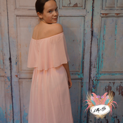 Tulip in pink ~ Flower Girl or Party Dress