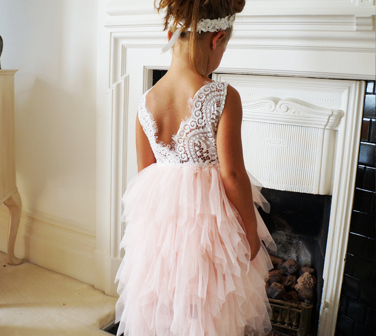 Bess ~ Party or Flower Girl Dress