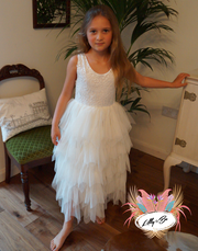 Bess in Ivory ~ Luxurious Tulle Party Dress