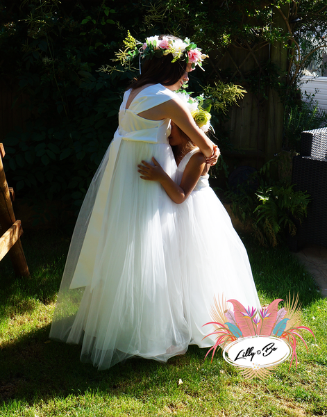 Caley ~ Flower Girl or First Communion Dress