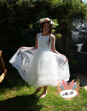 Charlotte ~ Flower Girl or Communion Dress