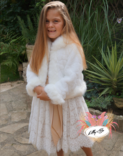 Lacy ~ Faux Fur Coat