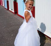 Courtney ~ Flower Girl | First Communion in White or Ivory