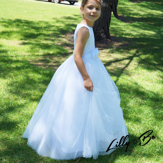 Courtney Flower Girl First Communion In White Or Ivory