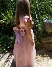 Helana ~ Luxurious dress in rose