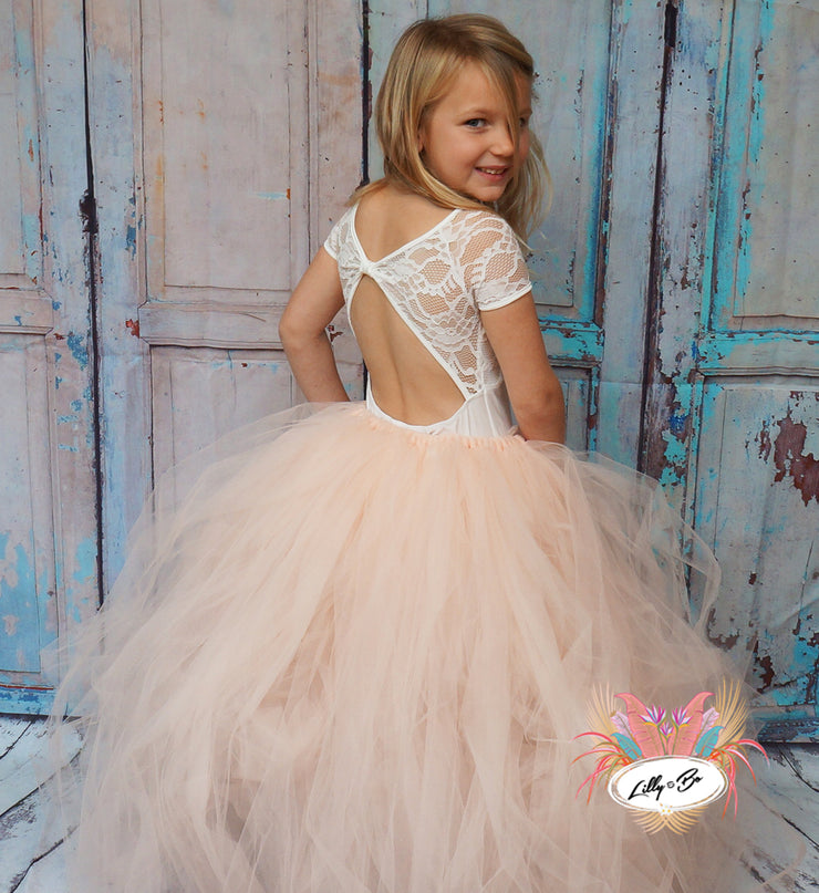 Ferne ~ Tutu skirt in Blush
