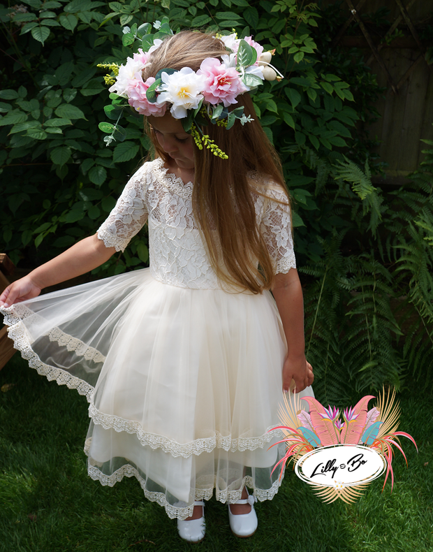 Freya ~ Flower Girl or Party Dress