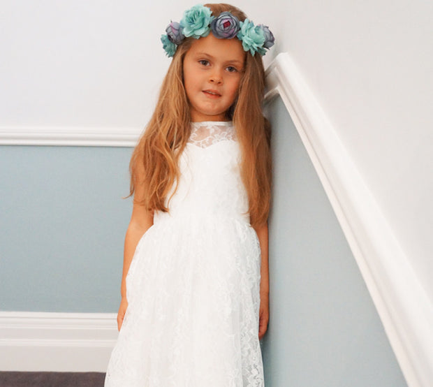Holly ~ Flower Girl Dress
