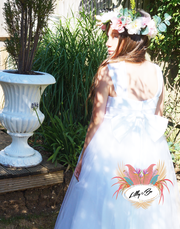 Indianna ~ Flower Girl | Junior Bridesmaid | First Communion