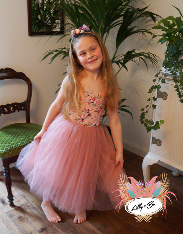 Lolita Tulle Dress ~ Party or Flower Girl Dress