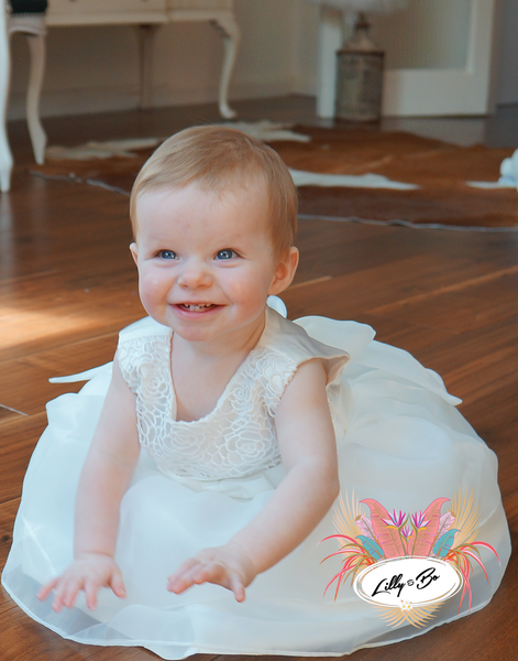 Lillie ~ Baptism | Christening Dress | Flower Girl