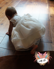 Lillie ~ Baptism | Baptism Dress | Flower Girl