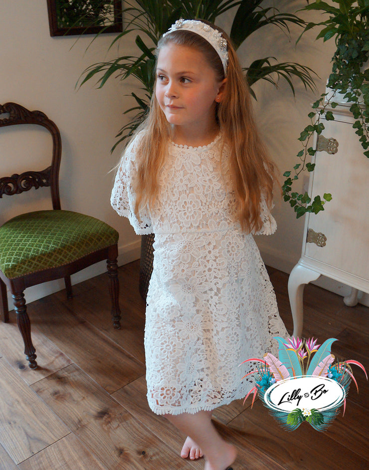 Lucinda ~ Party or Flower Girl Dress