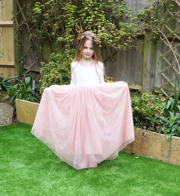 Mary-Jane in Blush~ Party or Flower Girl Dress