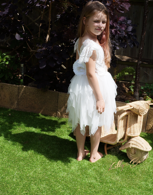 Penelope in White ~ Party Dress