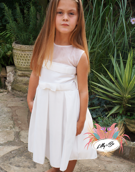 Renae ~ Flower Girl or First Communion Dress