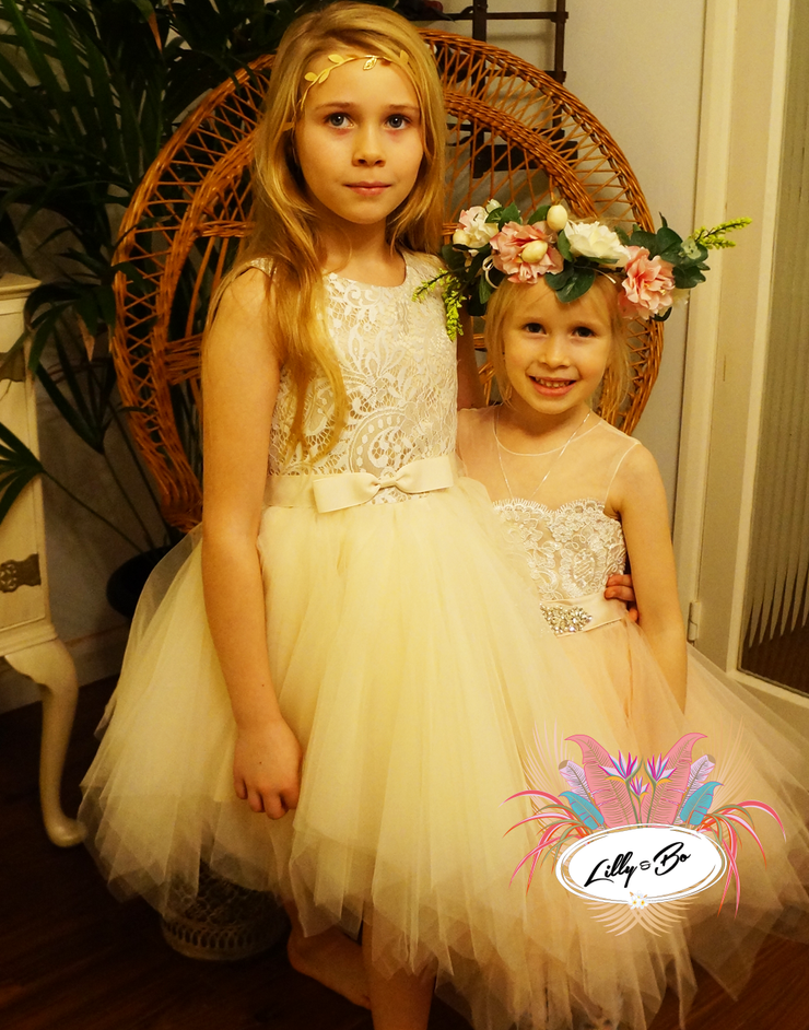 Claudia ~ Party or Flower Girl Dress