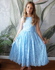 Tigerlilly ~ Luxurious Lace Two-Piece - Baby Blue