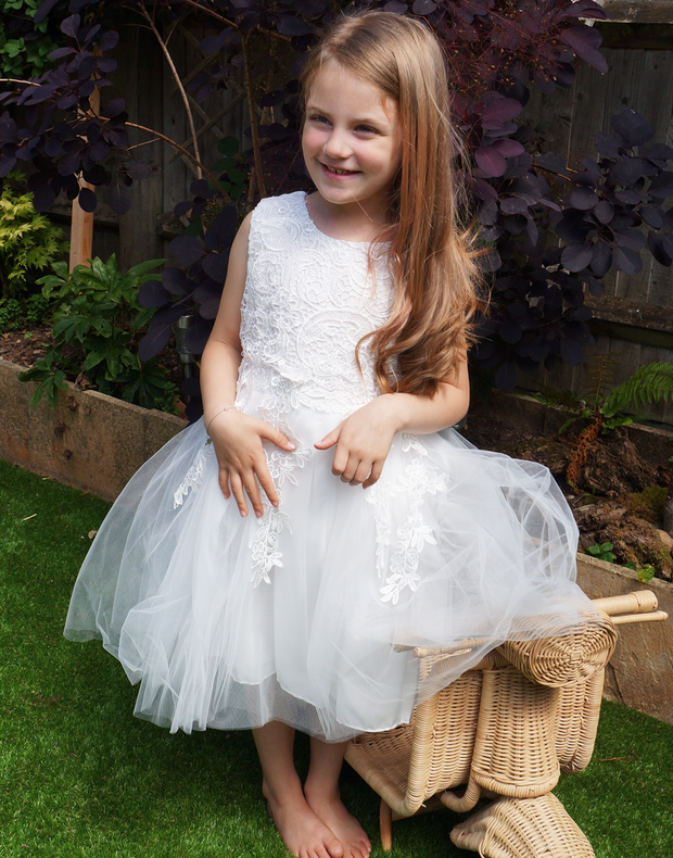 Vogue ~ Flower Girl  Dress
