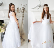 Lilly and Bo ~ Bridesmaid Dress & Flowergirl Dress