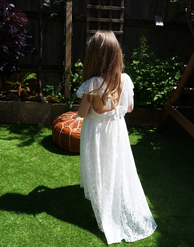 Yemaya ~ Flower Girl dress