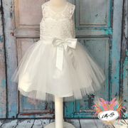 Zoe ~ Flower Girl | Christening Dress