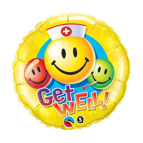 Get Well Smile Faces
