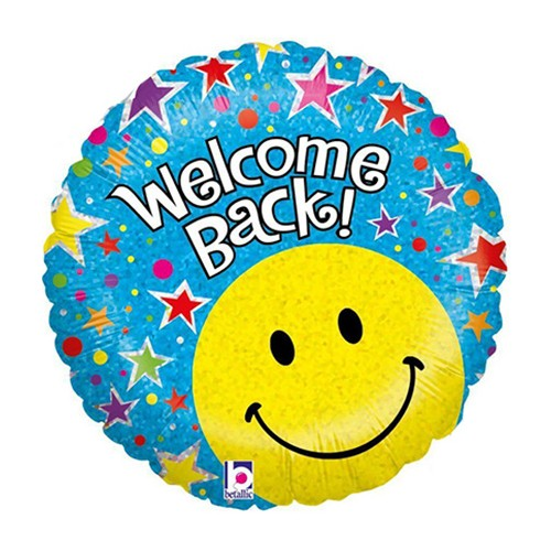 Emoticon Welcome Back