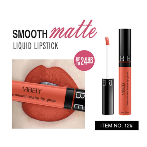 28 Color Matte Waterproof Liquid Lipstick