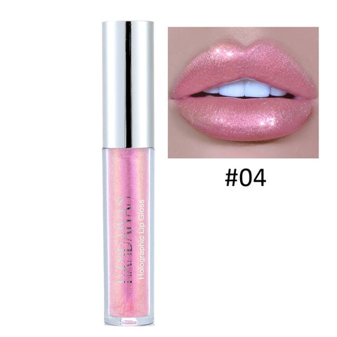 6 Color Flash Liquid Waterproof Crystal Shiny Lipstick