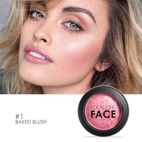 6 Color Blush Makeup Soft Smooth Bronzer