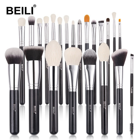 Professional Eyeshadow Natural Brush Set