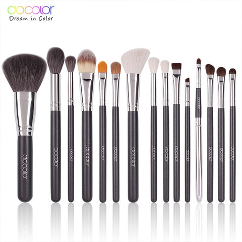 Professional Natural Makeup Brushes Set