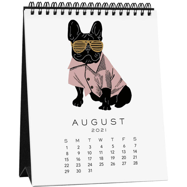 Good Boys Easel Desk Calendar