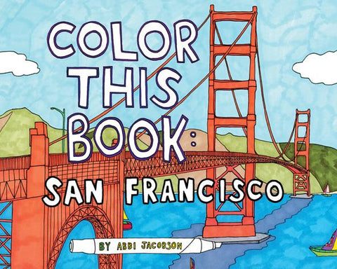 Color This Book San Francisco