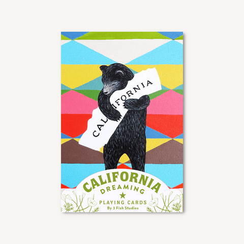 California Dreaming Playing Cards