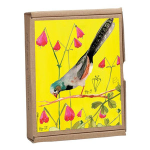 Vintage Bird Notecards S/16