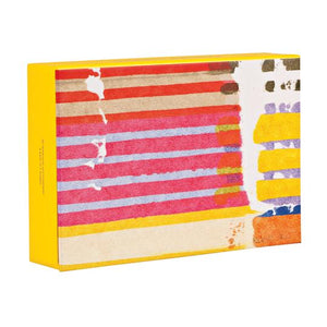 Painted Stripes Notecards S/20