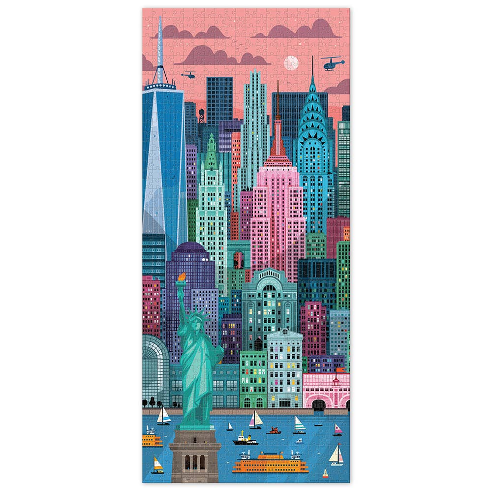 New York 1000 Piece Puzzle by Fred and Friends