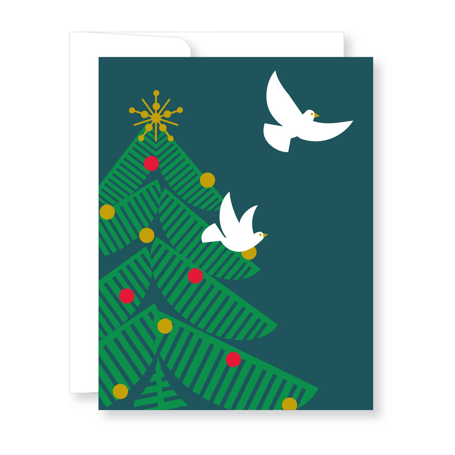 Holiday Cards Boxed Set-Tree and Doves