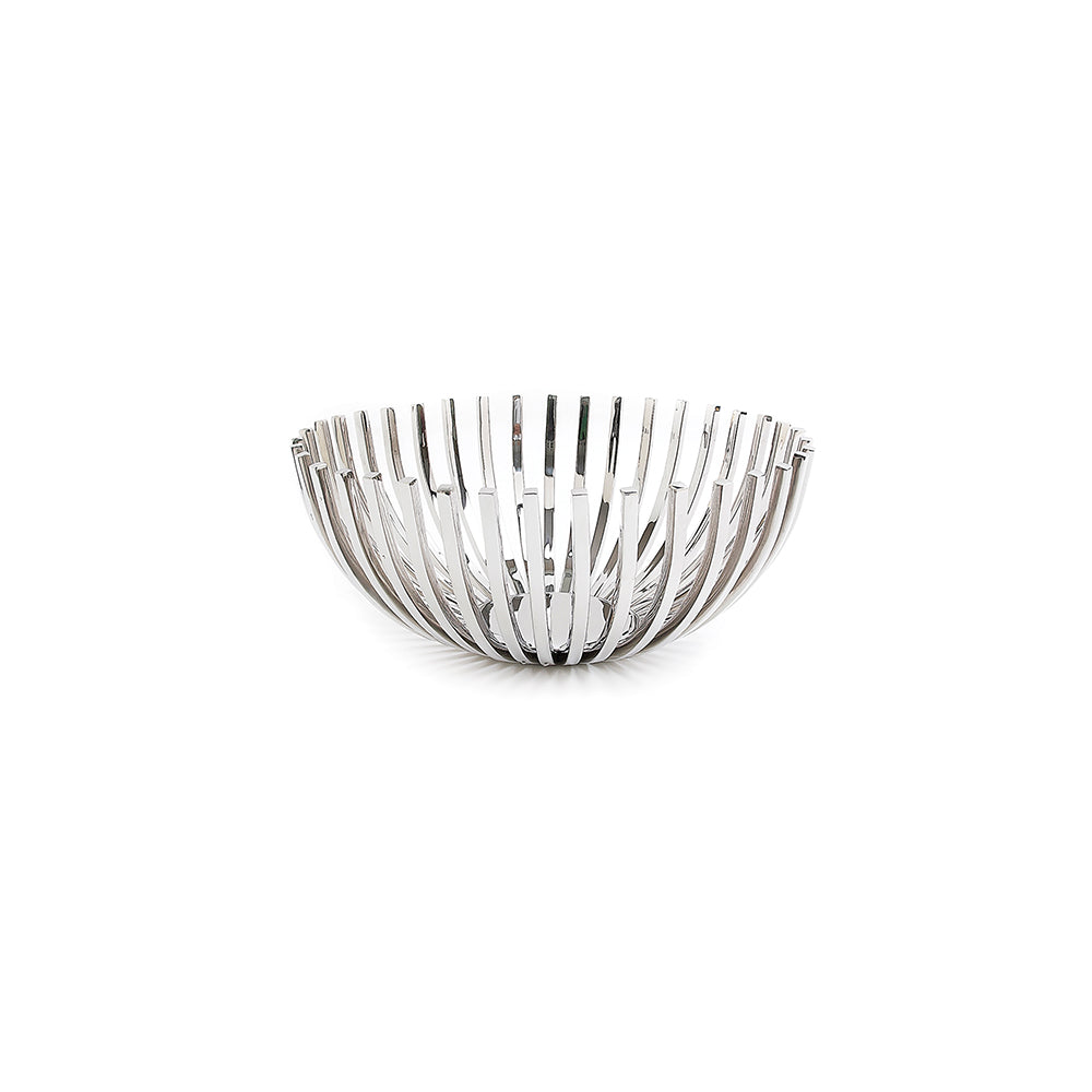 Antibes Stainless Steel Decorative Bowl
