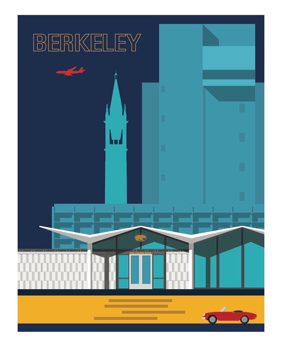 Print Berkeley Blues by Micheal Murphy