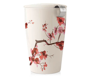 Cherry Blossom Tea Cup w/ Infuser by Tea Forté