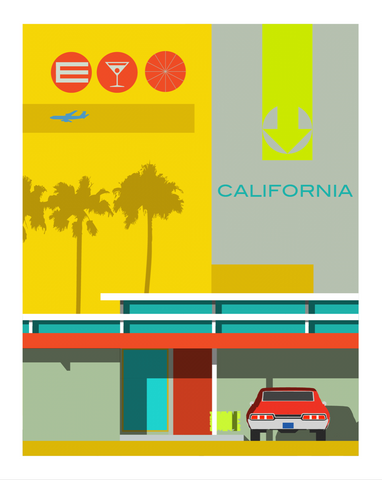 Print Eichler SoCal by Michael Murphy