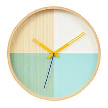 Flor Wall Clock Turquoise