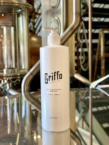 Griffo Distillery Hand Sanitizer Gel Pump 16oz